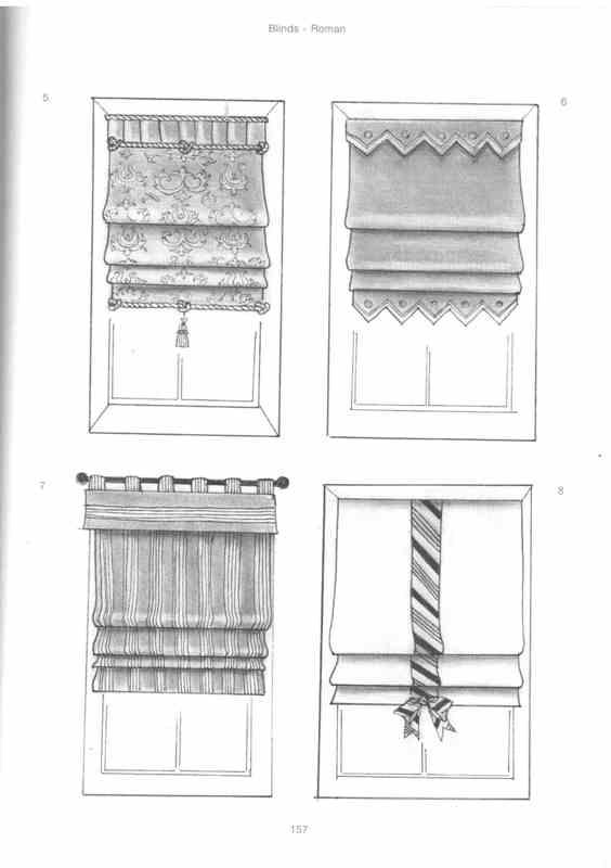 Как сделать римские шторы своими руками из обоев